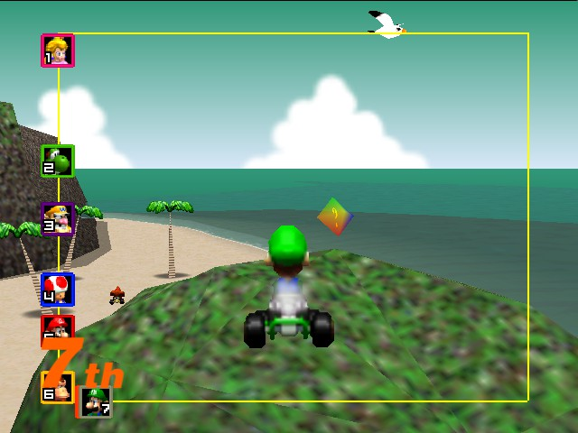 Mario Kart 64 - Misc  - This is my rock. - User Screenshot